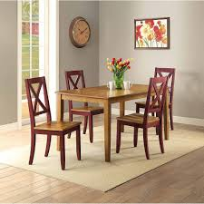 better homes and gardens maddox crossing dining chair red set of