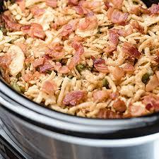 slow cooker green bean casserole hamiltonbeach com
