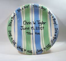 birth plates personalized personalized birth plates personalized baby gifts baby bibs etc
