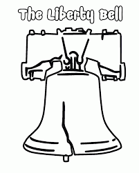 liberty bell coloring page printable coloring home