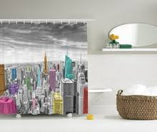 Skyline Shower Curtain Popular Cityscape Shower Curtain Buy Cheap Cityscape Shower