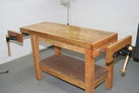 Old Woodworking Benches For Sale by Building A Real Woodworker U0027s Workbench 32 Steps With Pictures