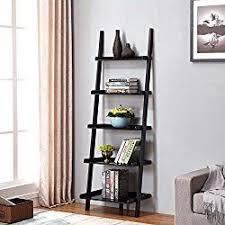 5 Tier Bookshelf Ladder Best 25 Leaning Ladder Shelf Ideas On Pinterest Ladder Shelves