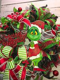 christmas wreath the grinch christmas wreath christmas grinch