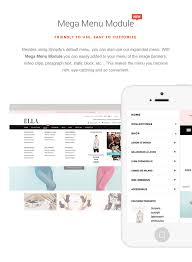 ella responsive shopify template sections ready by halothemes