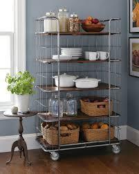 kitchen storage cupboard on wheels rolling shelves for pantry lockable wheels kitchen decor