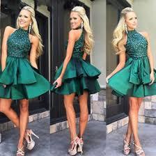 discount emerald green short cocktail dress 2017 emerald green