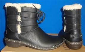 ugg s rianne boots ugg australia s black rianne leather ankle boots size us 5