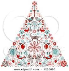 vector art christmas tree christmas art christmas vector