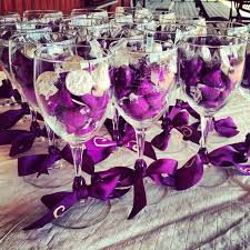 wine glass party favor hershey wedding favors