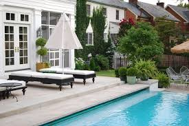 Chaise Lounge Pool London Outside Chaise Lounge Patio Contemporary With Indoor