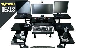 desk for computer coolest computer desk corner desk multi monitor best computer