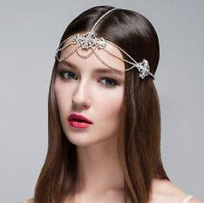 jewelled headdress jeweled headpiece clothing shoes accessories ebay