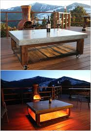 outdoor table ideas 13 diy outdoor coffee table ideas