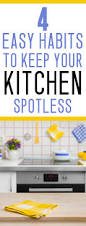 habits to keep your kitchen spotless mommy on purpose