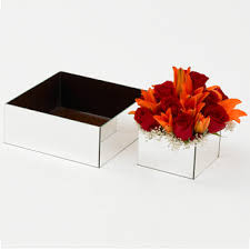 Floral Vases And Containers Containers U0026 Vases Mirrored Vases U0026 Containers Floral Supply