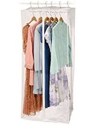 amazon com household essentials 311332 hanging wardrobe garment