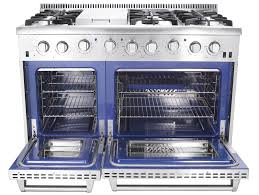 48 Gas Cooktops Thor Kitchen Stoves Professional Stainless Steel Ranges And Hoods