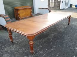 large extending dining table very large antique oak extending dining table antiques atlas