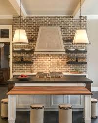 brick backsplashes for kitchens brick backsplash kitchen modern kitchen modern brick kitchen ideas
