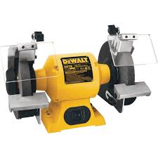 free shipping u2014 dewalt heavy duty bench grinder u2014 8in 3 4 hp