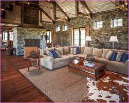 Living Room Modern Rustic Furniture Navpa - Rustic living room set