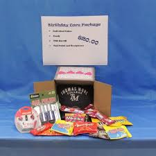 Birthday Care Package Care Package Birthday Thomas More College Bookstore The More Store