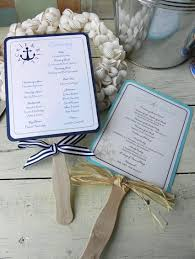 wedding ceremony fans plan to make my programs something like this but more my theme