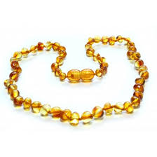 baby bead necklace images Baltic amber teething necklace jpg