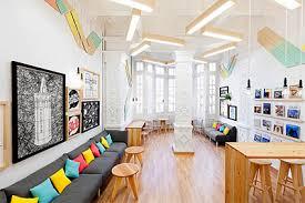 Language School Interior Branding Commercial Interior Design - Commercial interior design ideas