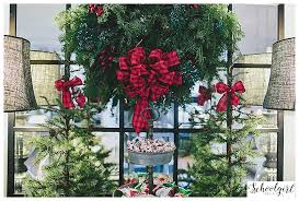 Pottery Barn Christmas Decorations 2015 by Christmas Tour 2015 Schoolgirlstyle