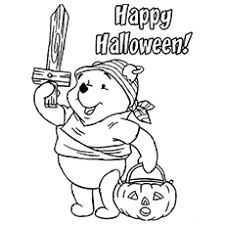 25 amazing disney halloween coloring pages