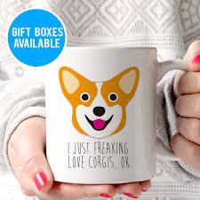 funny dog mug funny corgi mug dog lover gift corgi lover gift