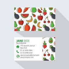 imagenes gratis de frutas y verduras tarjeta de visita de frutas y verduras descargar vectores gratis