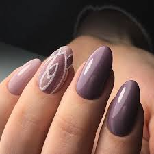 purple nails with white design nailed it pinterest purple nail
