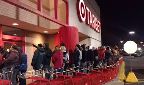 target thursday black friday big screen tvs are the popular item at target best buy people