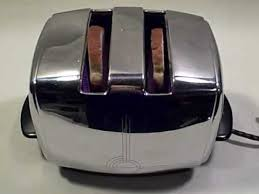 Toastess Toaster Sunbeam Radiant Shade Control Drop Down Vintage Toaster For Sale