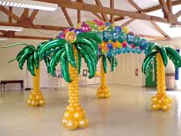 caribbean decorations balloon decorations by ziggy www zmagicshow atlanta magician