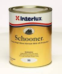 interlux schooner varnish deep gloss warm golden color uv