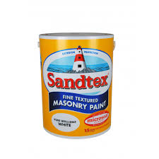 sandtex textured masonry paint cornish cream 5 litre