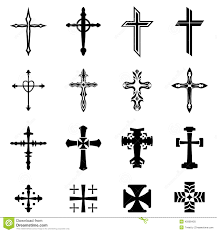 cross icon set stock vector illustration of isolated 45808430