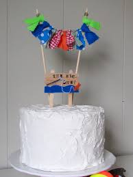 the big one cake topper the big one birthday fishing