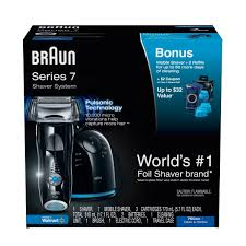 braun series 7 760cc electric shaver system 11 pc box walmart com