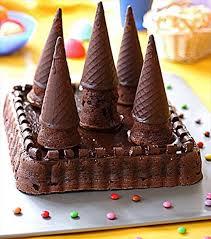 cuisine enfant le gâteau au chocolat château fort envie de