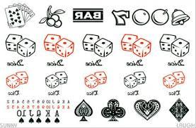 8 gambling poker tattoo designs and ideas