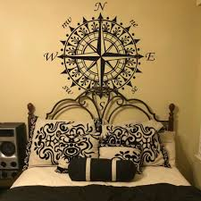 wall decals stickers home decor home furniture diy compass rose nautical wall decal inspiration vinyl baby room removable art decor