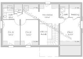 plan maison etage 4 chambres 1 bureau plan maison 3 chambres 1 bureau 7 plans de maisons individuelles