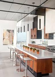 eclairage pour ilot de cuisine comment disposer ses suspensions au dessus de l îlot de cuisine