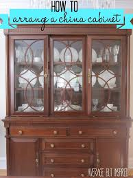 Cabinet Organizers For Dishes Tips On How To Arrange A China Cabinet Average But Inspired