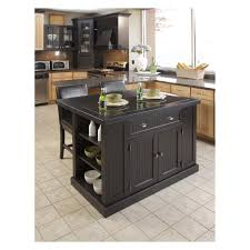 Bench For Kitchen Island Home Styles Nantucket Kitchen Island With Two Stools Distressed
